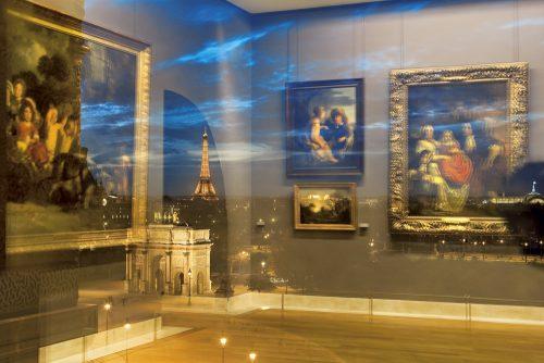 """Blick aus dem Louvre, Buch """"Louvre avec Vues"""", co-published by Èditions de La Martiniére, Musée du Louvre èditions, Edition Lammerhuber, 2007"""