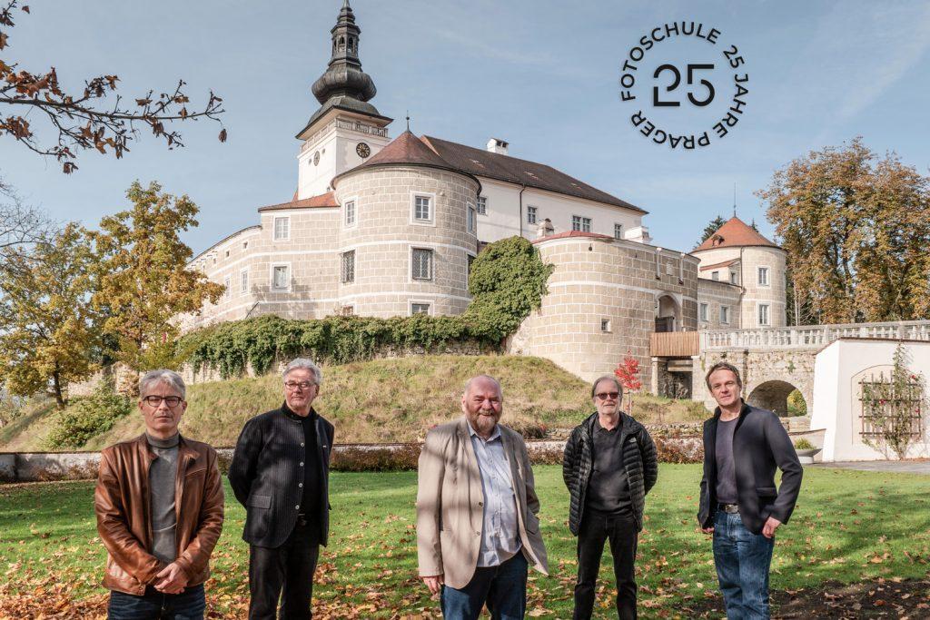 v.l.n.r. Christian Hofstadler, Herbert Leiter, Sepp Puchner, Peter Bauer, Kurt Hörbst